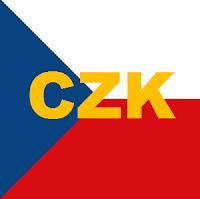 Czech Koruna (sign: Kč, Code: CZK)