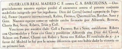 Nota aparecida en el Boletín nº LVII del Club Ajedrez Barcelona de junio de 1955