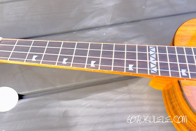 Freebird KT1-T Tenor Ukulele fingerboard