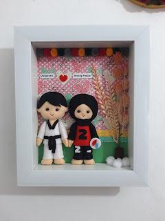 boneka flanel frame
