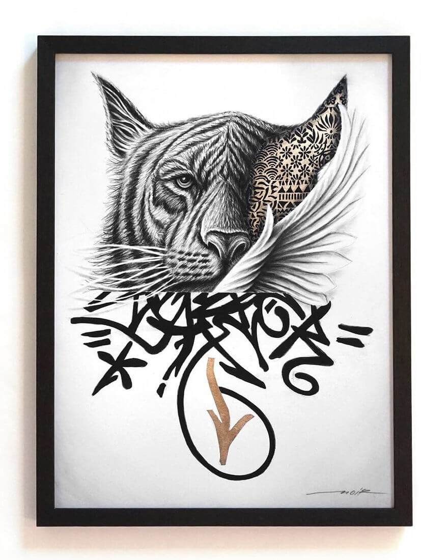 09-Lucien-Gilson-NOIR-Stylised-Portraits-and-Animal-Drawings-www-designstack-co