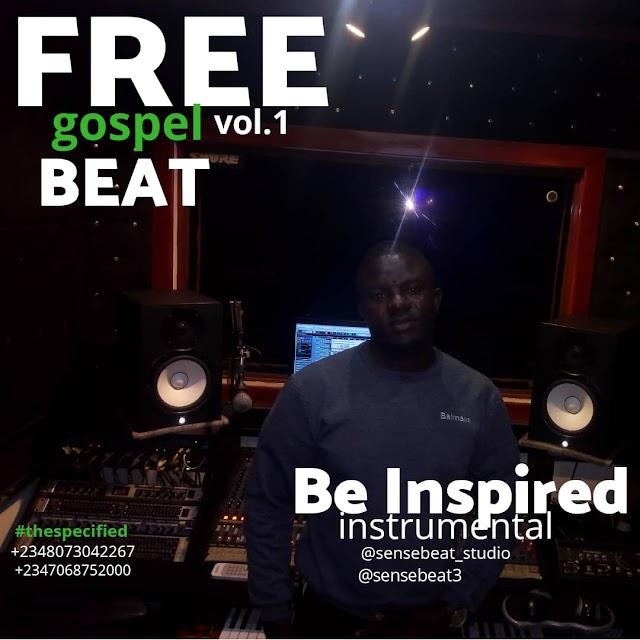 FREE BEAT: SENSE BEAT - BE INSPIRED GOSPEL INSTRUMENTAL   @Sensebeat3