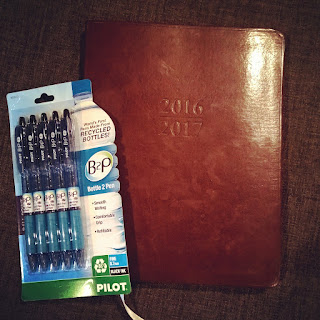 gallery leather planner