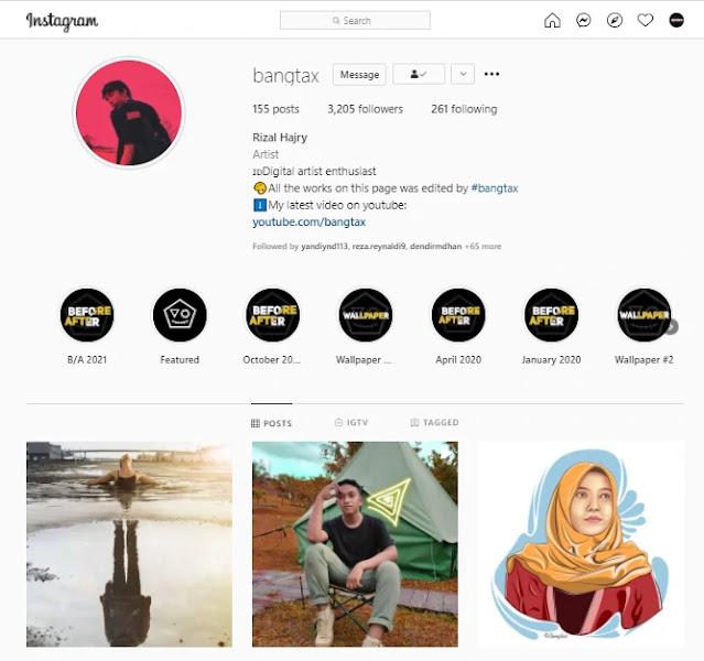 Cara Unduh Foto Instagram HD di Komputer