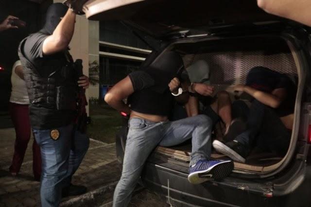 Chacina de Cajazeiras – Sete suspeitos de terem participado do massacre são apresentados