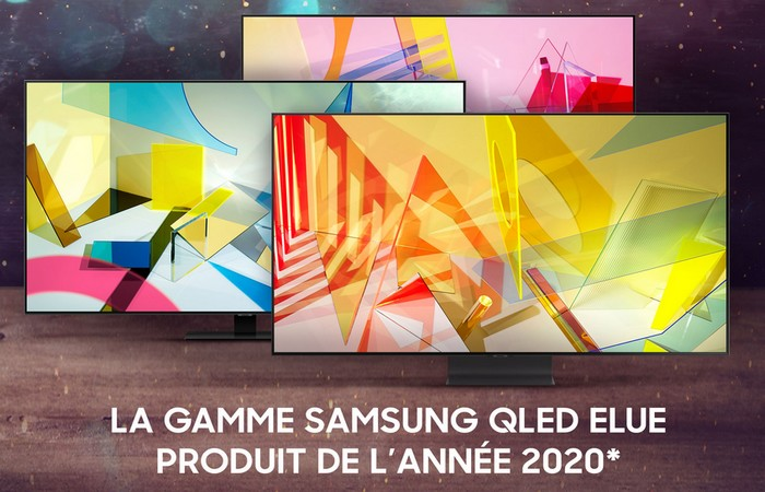samsung qled produit annee 2020 maroc