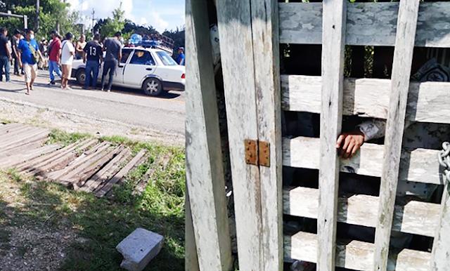 5 días y 11 enjaulados, liberan a 7 Guardias Nacionales y 4 Federales encerrados en jaula de madera
