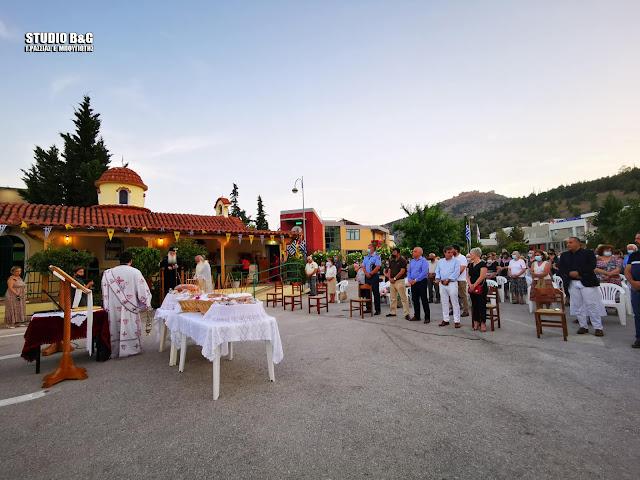 Η Εορτή των Αγίων Αναργύρων στο εκκλησάκι του Νοσοκομείου του Άργους
