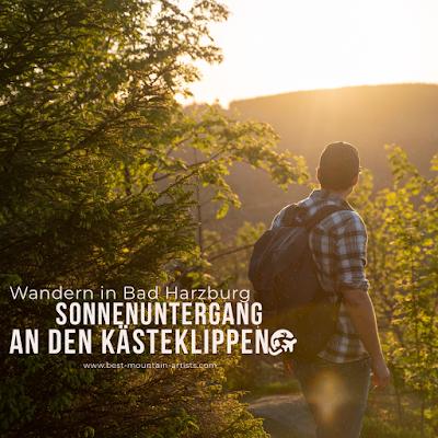 Kästeklippentour und Sonnenuntergang im Harz | Wandern in Bad Harzburg 31