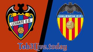 نتيجة مباراة فالنسيا وليفانتي اليوم في الدوري الاسباني - Tab3live