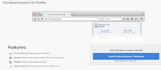 install alexa toolbar di browser