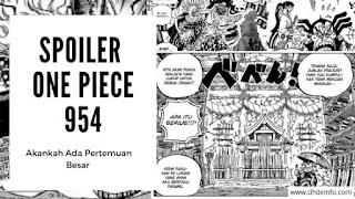 Spoiler One Piece 954 : Akankah Ada Pertemuan Besar