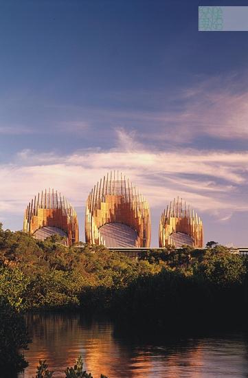Architettura Contemporanea Renzo Piano Centro Culturale Jean Marie Tjibau Oceanea i grandi maestri dell'architettura