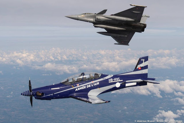 French Air Force receives PC-21