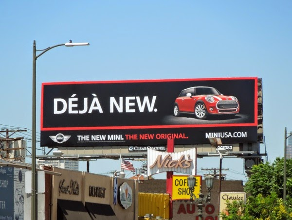 Deja New MINI car billboard