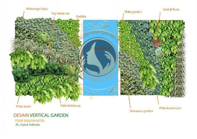 Tukang taman vertical mojokerto