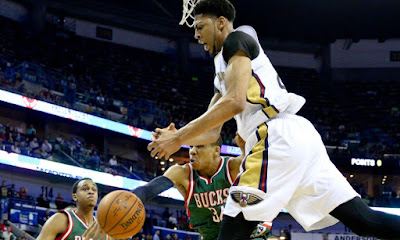 Milwaukee Bucks vs New Orleans Pelicans
