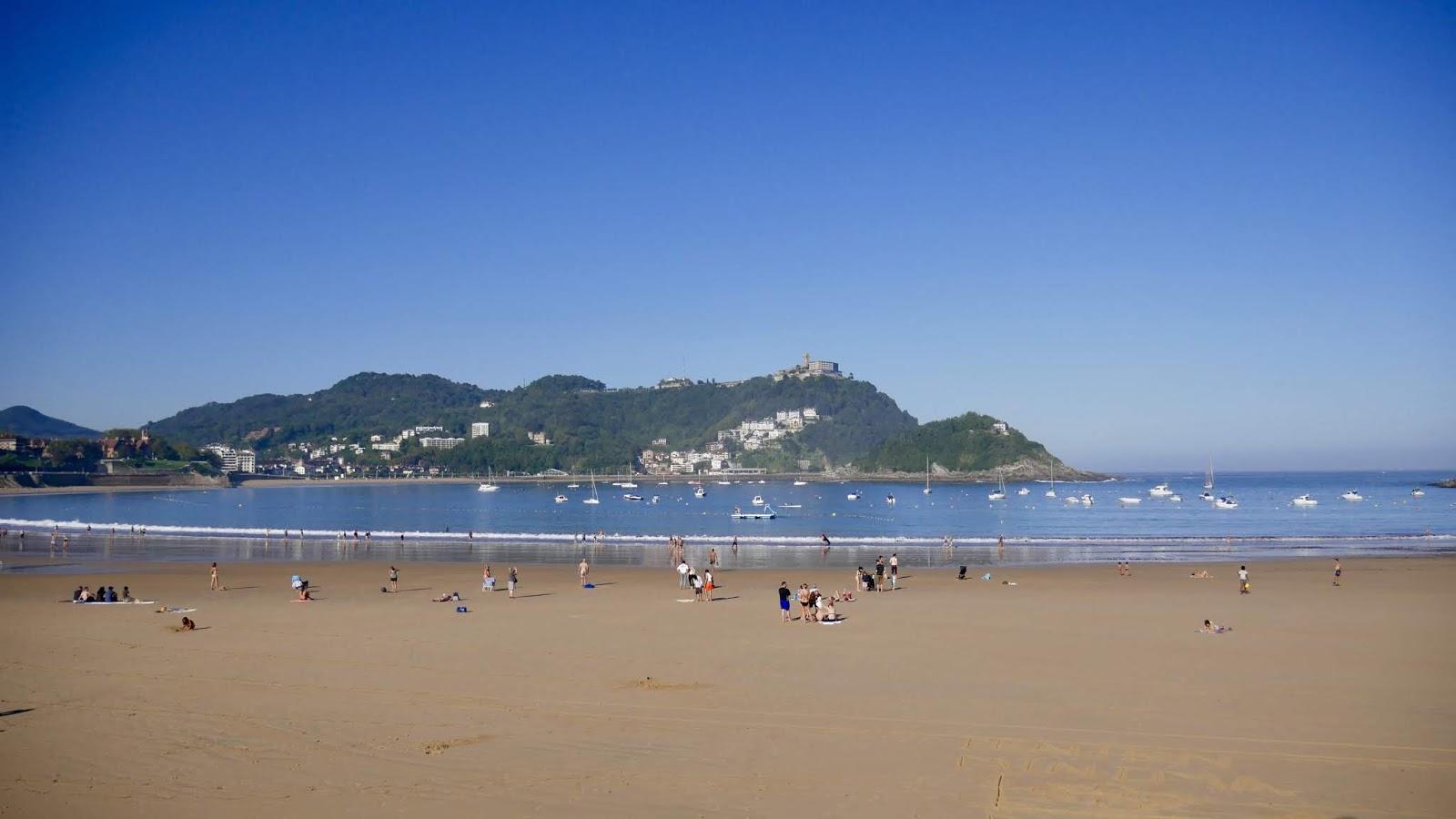 Playa de la Concha San Sebastian Pays Basque Espagne