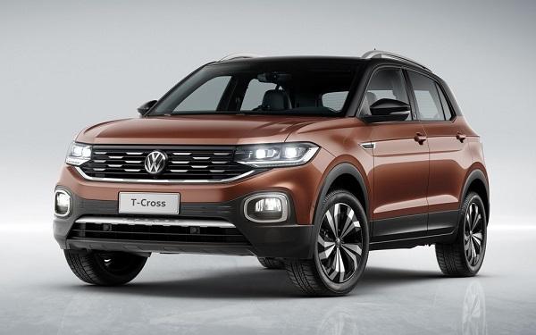 Ficha Técnica Volkswagen T-Cross (2019)