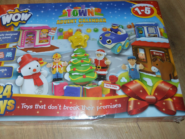WOW Toys Town Advent Calendar Giveaway