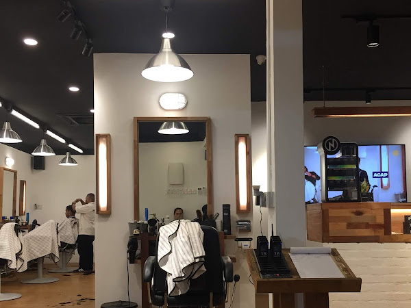 A cool and affordable barber shop in Maluri area