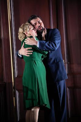 Verdi: Un ballo in maschera - Anne Sophie Duprels, Matteo Lippi - Opera Holland Park 2019 (Photo Ali Wright)
