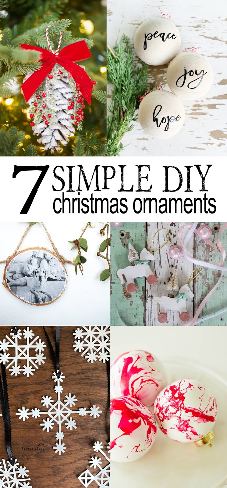 simple diy ornaments ideas