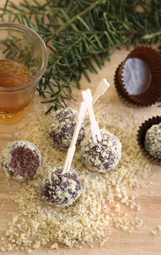 Five Minute Bourbon Balls