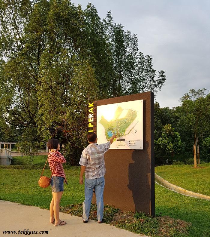 Visiting Taman Botani Perak In Taiping Map