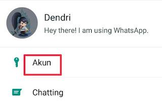 Cara Menghapus Akun WhatsApp Di Hp Android