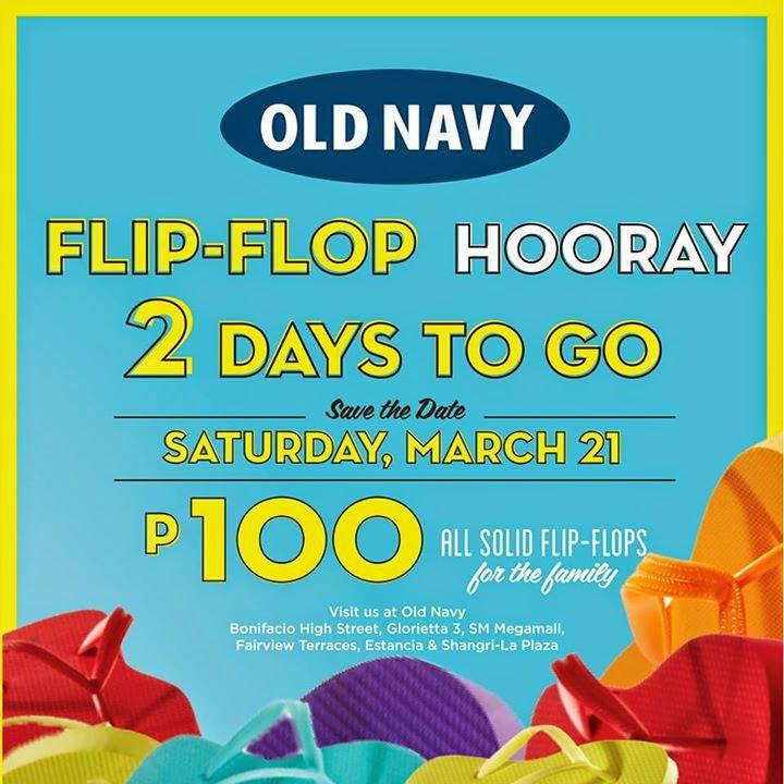 Old navy flip flops sale  philippines