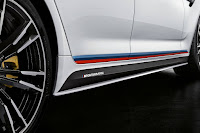 BMW M5 Saloon With M Performance Parts (2018) Side Detail