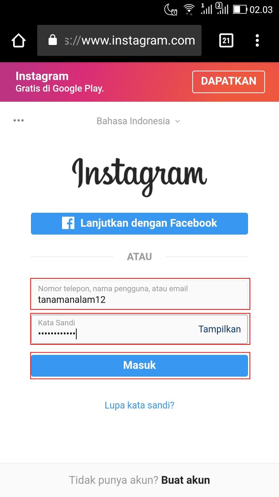 Cara Menghapus Akun Instagram Permanen di HP 1