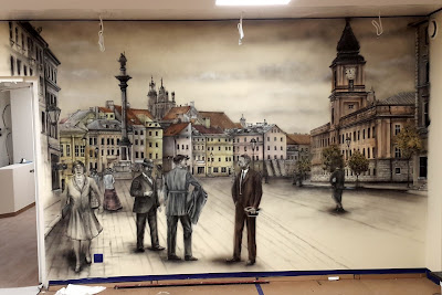 Malarstwo ścienne, malowanie rysunków na ścinach, artystyczne malowanie murali