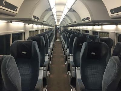 Empty Trains - VIA Rail Montreal to Quebec City