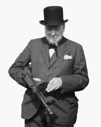 31 July 1940 worldwartwo.filminspector.com Winston Churchill Tommy Gun