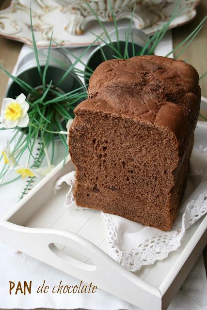 Pan de chocolate, panificadora,pan de desayuno