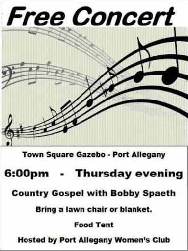 7-29 Free Concert at Port Allegany Square