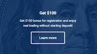 UpForex $100 Forex No Deposit Bonus