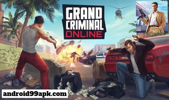 لعبة Grand Criminal Online v0.24 مهكرة كاملة بحجم 488 ميجابايت للأندرويد