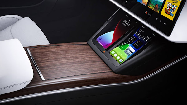 Novo Tesla Model S 2022 - interior