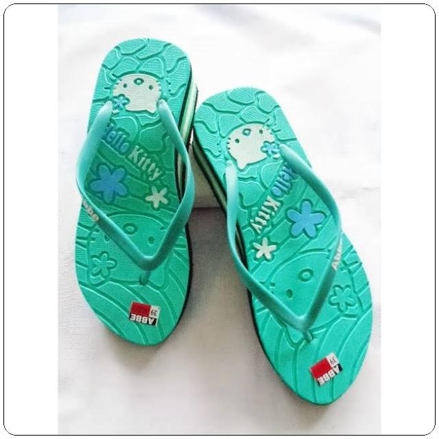 Sandal Spon HK Tebal Dewasa || Sandal Murah Garut