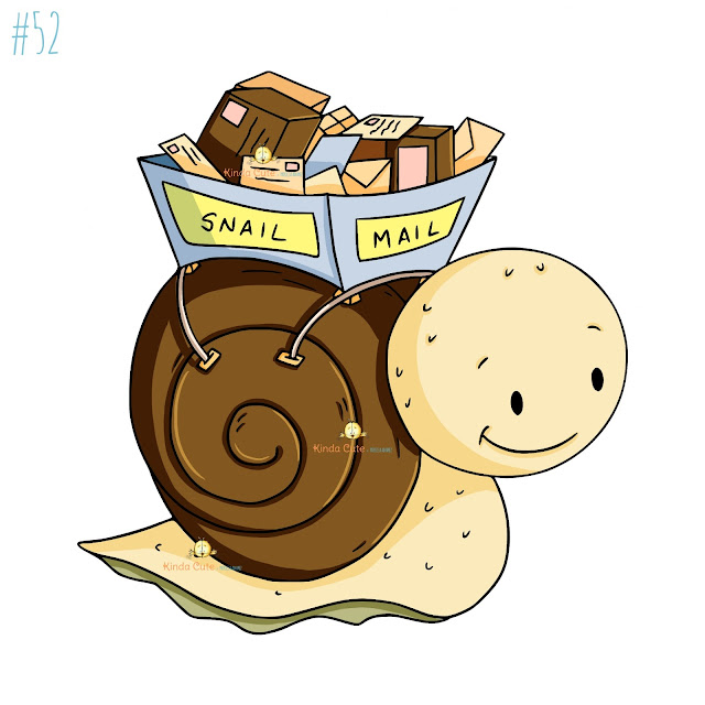 Snail Mail digital stamp
