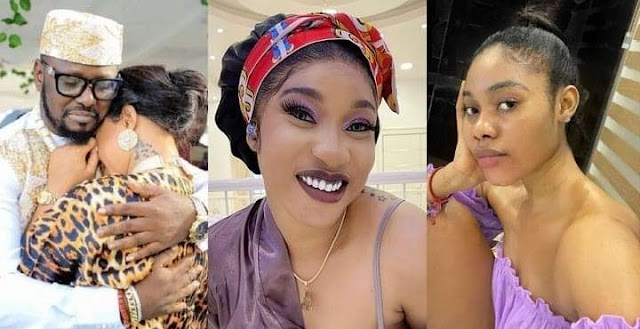 Kpokpogri has so much of your s*x tapes in his possession, – Tonto Dikeh tells dancer Jane Mena, as she responds to her ex-lover's lawsuit against her
