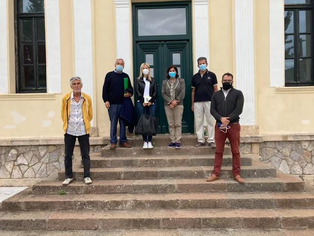 Επίσκεψη της  Εντεταλμένης Συμβούλου της Περιφέρειας Πελοποννήσου για το 1821 στη Νέα Επίδαυρο