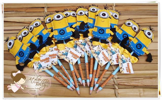 Lembrancinhas Festa  Minions