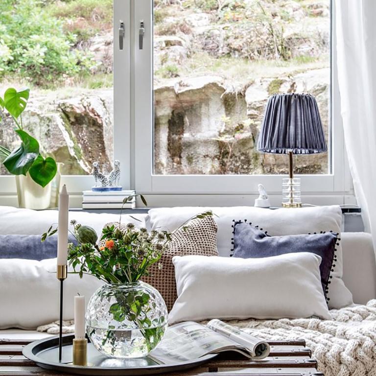 HOME TOUR: un apartamento en el que reinan las fibras naturales