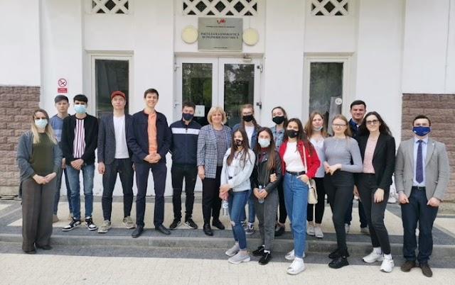 """Vizita elevilor Liceului Teoretic """"Constantin Spătaru din Leova UTM"""
