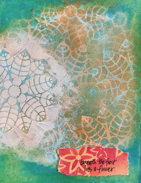 mixed media challenge lisa fulmer
