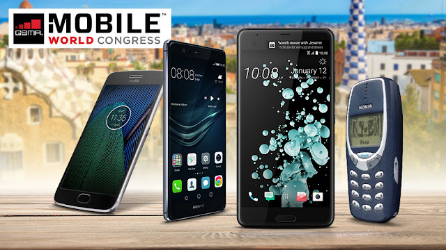 New Smartphones 2017: Huawei, HTC, Samsung, Sony & Co.